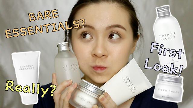 Althea's NEW SKINCARE - Bare Essentials 3-Step Basic Korean Skincare