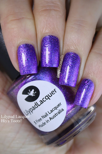 Lilypad Lacquer Hiya Toots!