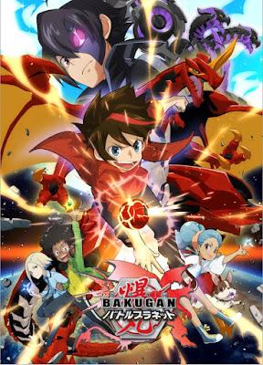 "Manga: Nueva imagen promocional del anime ""Bakugan Battle Planet"""