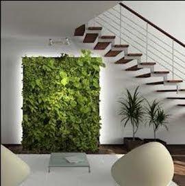 Jard n vertical interior jardines verticales y cubiertas - Jardin vertical interior ...