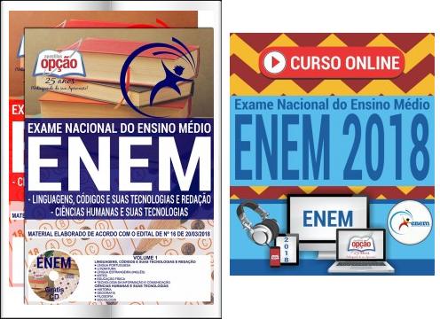 Curso online para o enem Exame Nacional do Ensino Médio 2018
