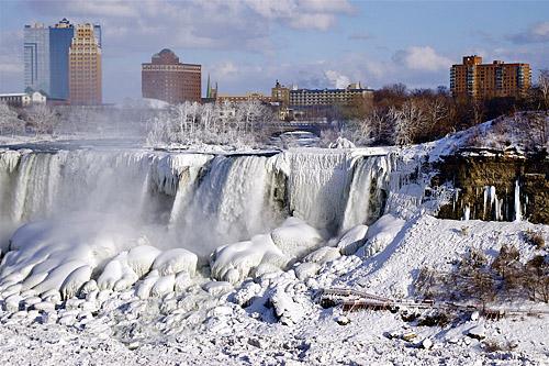 Niagara Falls 98 Years Ago |Niagara Falls Frozen 2009