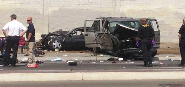 Fresno+Car+Crash+SUV+Kids+Ejected+Serious+Injuries+California+Avenue+2+March+2014