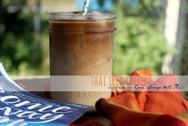 Thai Iced Coffee, inspired by Come Away With Me