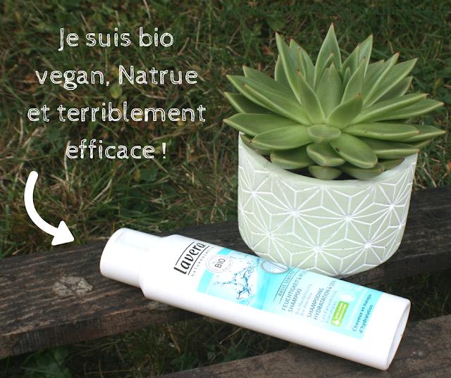 shampooing bio vegan natrue Lavera