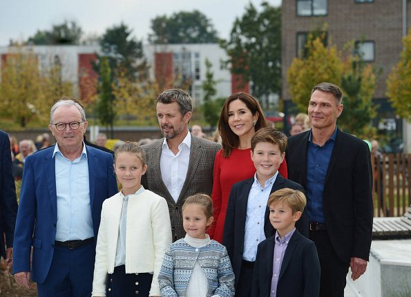Crown Prince Frederik, Crown Princess Mary, Prince Vincent, Princess Josephine, Prince Isabella and Prince Christian