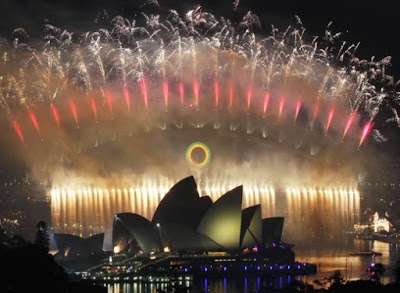 New Year's Eve Celebrations in the United States ans Australia