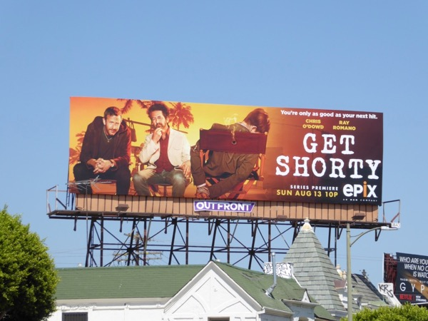 Get Shorty series premiere billboard