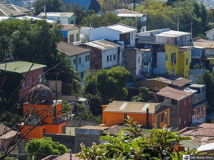 Casinhas de Valparaíso - Diário de Bordo Chile: 8 dias em Santiago e arredores