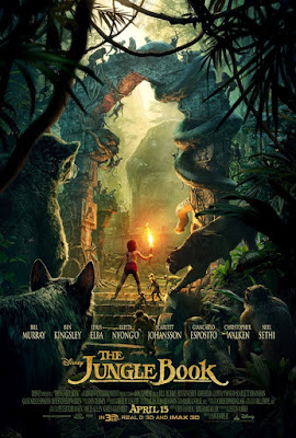 Poster Of The Jungle Book 2016 Full Movie In Hindi Dubbed Download HD 100MB English Movie For Mobiles 3gp Mp4 HEVC Watch Online