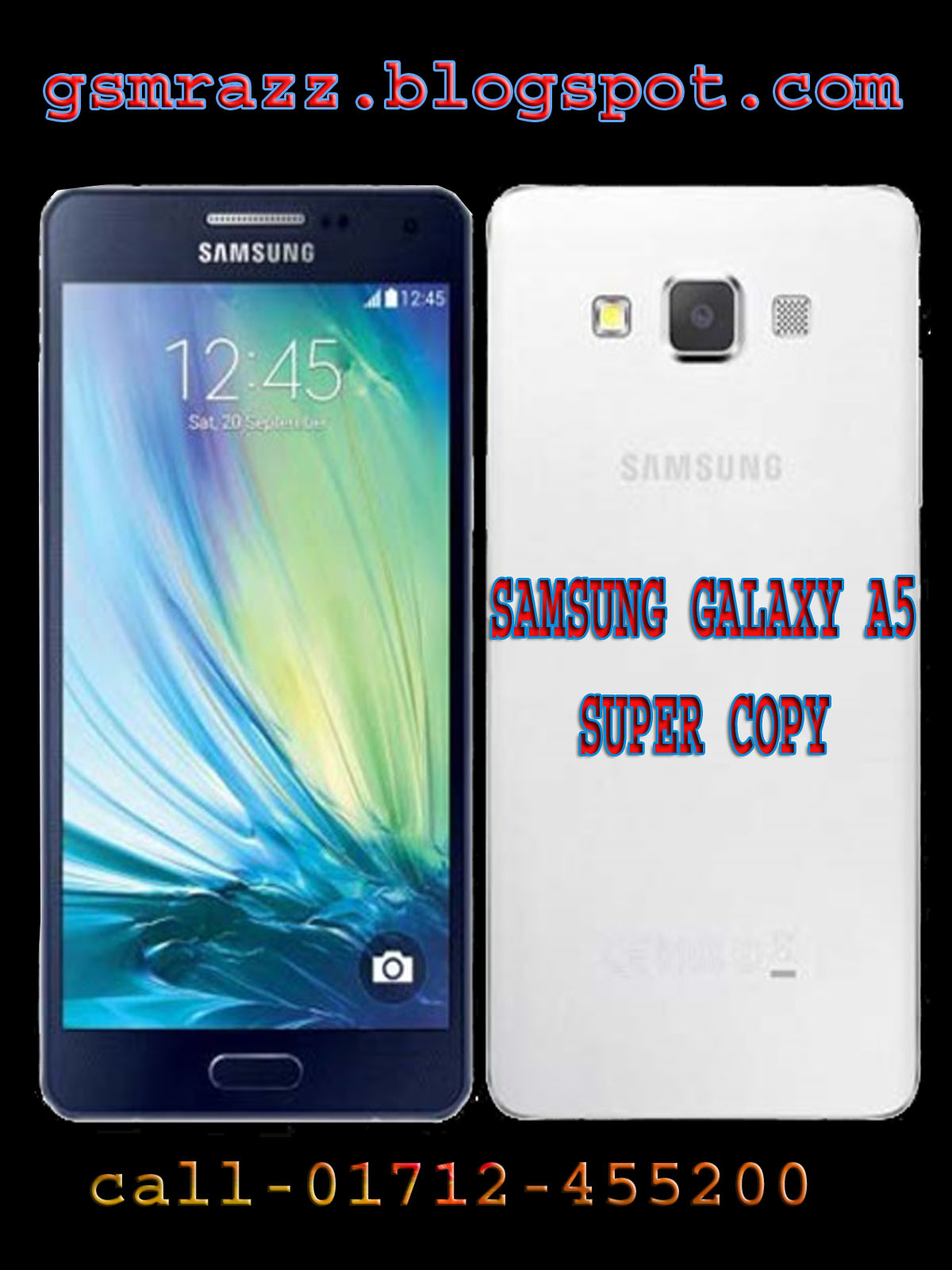 Samsung Galaxy A5 (A5000) Clone Super High copy Official Firmware