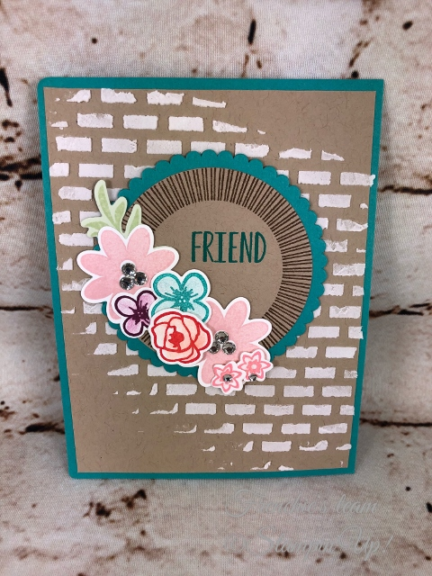 Bouquet Blooms, Frenchie' Team, Stampin'Up!, New release stamp set in the Annual catalog,