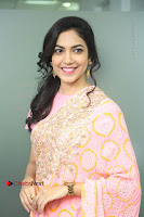 Actress Ritu Varma Pos in Beautiful Pink Anarkali Dress at at Keshava Movie Interview .COM 0069.JPG