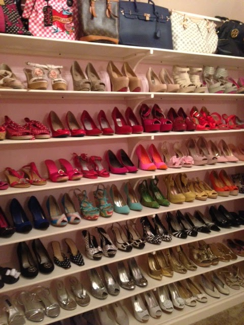 Closet Collection: Life In The Barbie Dream House: Shoe Closet