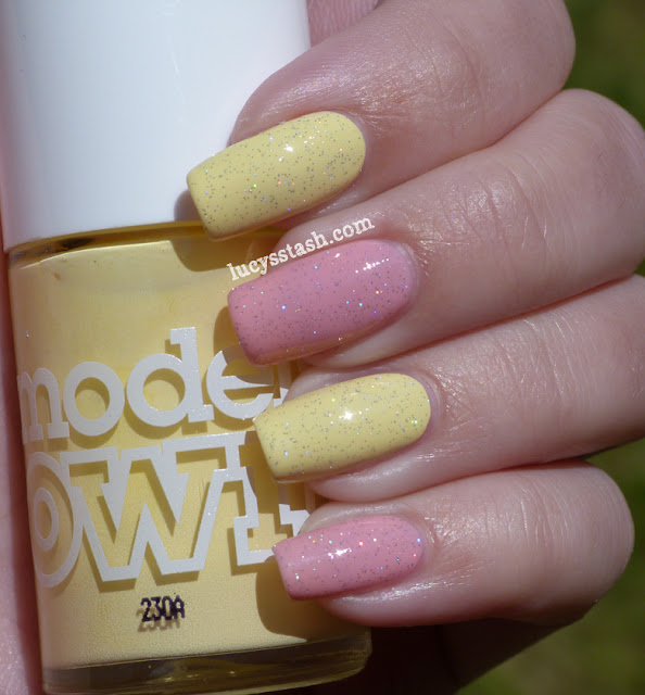 Models Own Lemon Meringue, Nails Inc. Warwick Avenue and INM Northern Lights topcoat