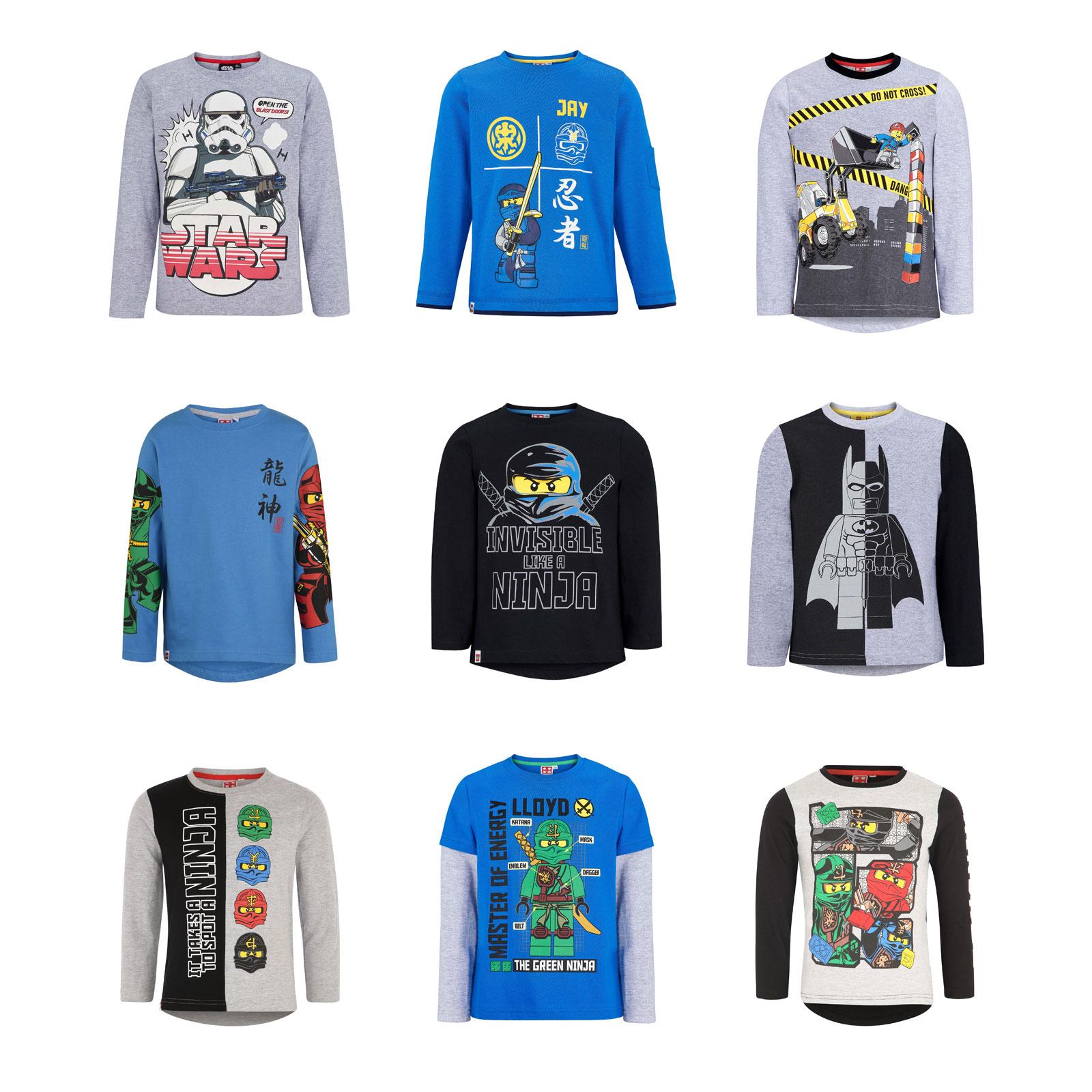 LEGO Ninjago Boys Long Sleeve T-Shirt