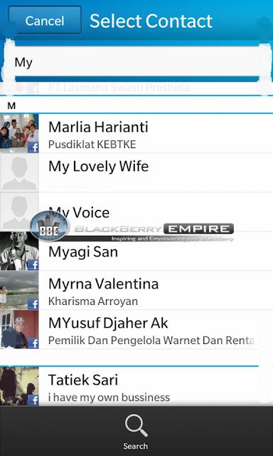 Aquí tenemos el primer vistazo de como son los perfiles vinculados y contactos en BlackBerry 10 se verá, no hay mejor manera de buscar información de un contacto en el teléfono inteligente BlackBerry que en el OS 10. Estas capturas nos llegan por parte de los amigos de BlackBerryEmpire. Si nos fijamos en las imágenes de abajo podrás ver cómo los perfiles y contactos vinculados todos se sincronizan: Fuente:mundoberry