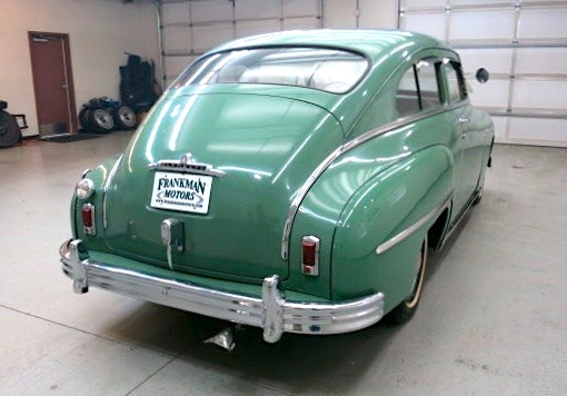 Car style critic plymouth 39 s 1949 fastback for 1949 plymouth 4 door sedan