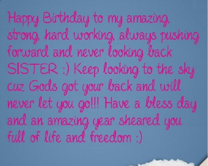 Happy Birthday To A Special Sister Quotes: Happy Birthday Quotes For Sister Gifts Images