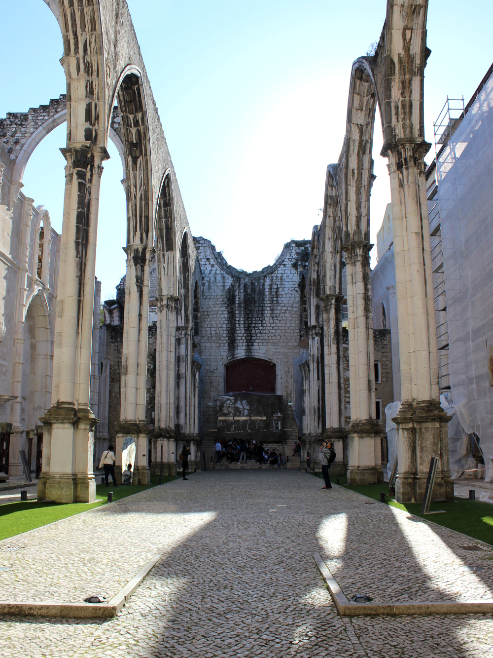 Lissabon Lisbon Lisboa Igreja do Carmo Church Cathedral Travel Guide Tipps
