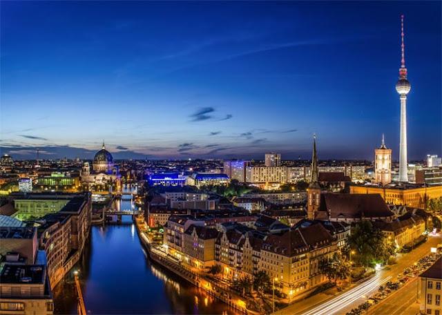 Vista da cidade de Berlim