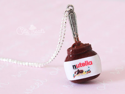 Nutella Jar Necklace