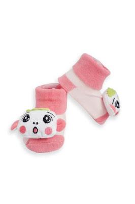 Kaos Kaki Bayi Pink Cow
