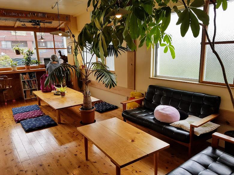 旅社 Sora House 交誼廳