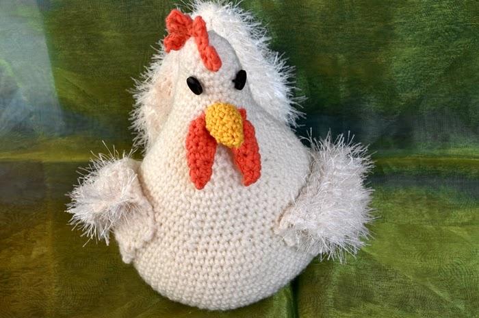 Engelwerkstatt Hühner Gehäkelt