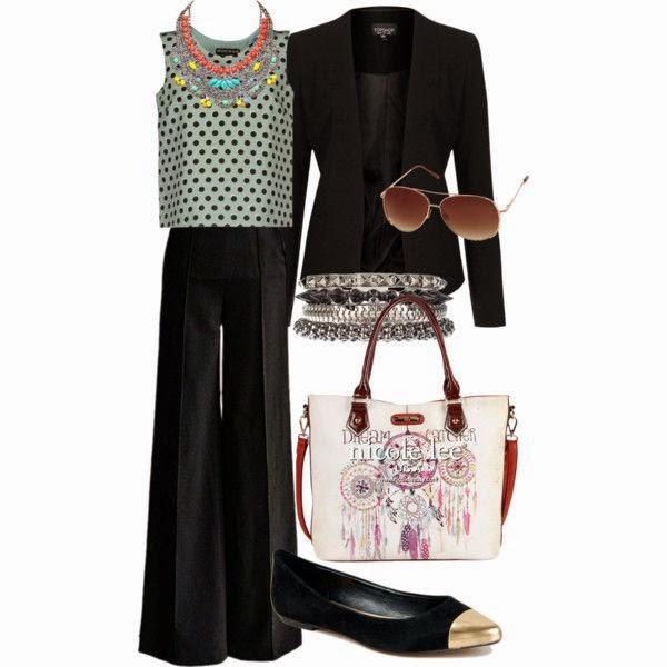 Outfit polka dots