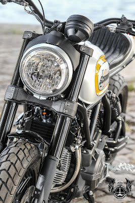 "Ducati Scrambler ""Magione"" by Fredd Krugger"