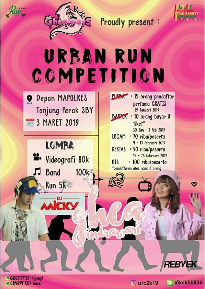 Urban Run and Competition • 2019