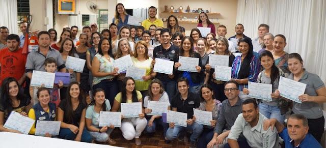 Nova Cantu: Cantuenses se formam no curso de Gestão Empresarial do Programa Bom Negócio Paraná