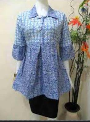 Contoh Model Baju Batik Untuk Kerja Terbaru