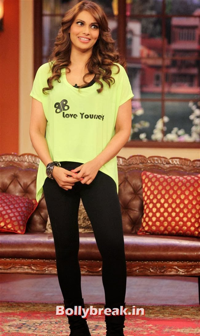 Bipasha Basu, Bipasha on comedy Nights to Promote Fitness DVD Unleash