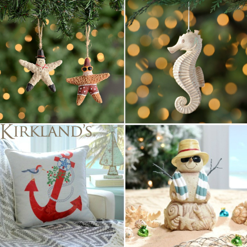 Coastal Christmas Decor at Kirklands