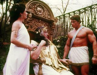 Schwarzenegger en la película Hercules en Nueva York
