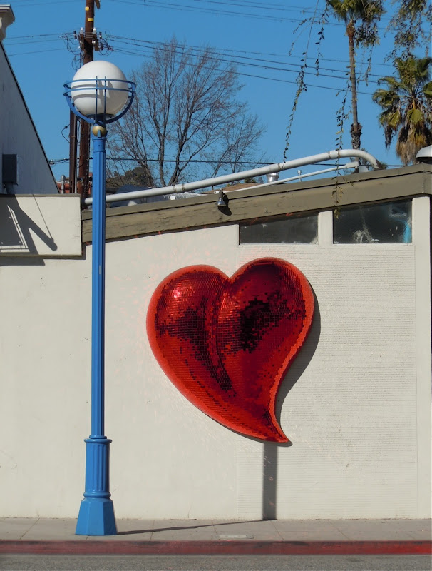West Hollywood heart
