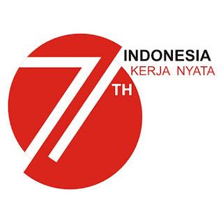Logo HUT RI ke 71 PNG
