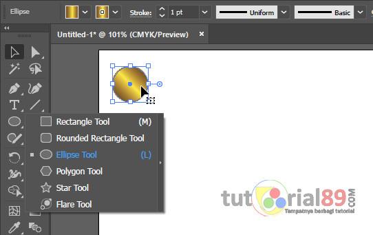 Cara cepat mengcopy objek banyak di illustrator + video