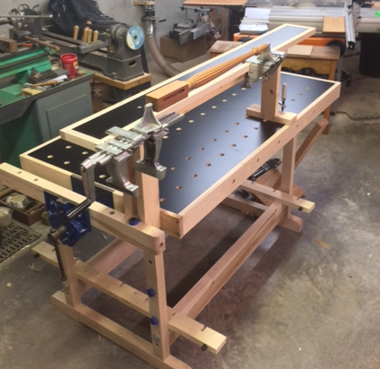 Mike S Woodworking Festool Style Bench