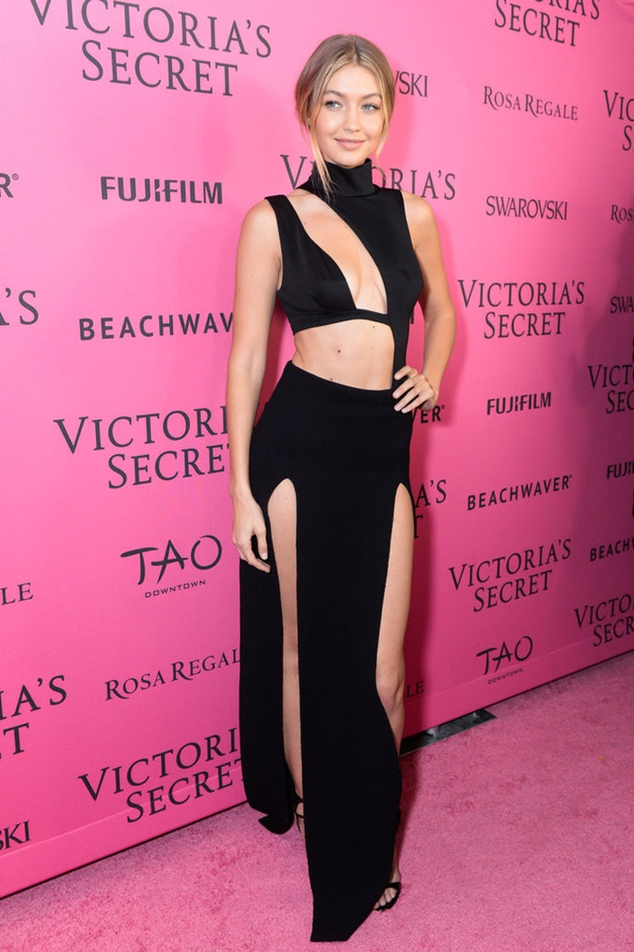 Gigi Hadid at the after party Victoria's Secret