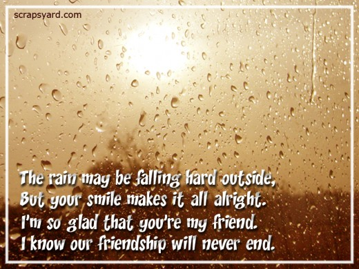 rain quotes for friends - photo #11