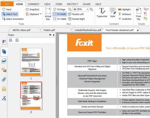 foxit pdf reader free download full version