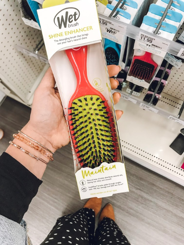 beauty on a budget, beauty find, best hairbrush for the tender headed, the best hairbrush, mom life, north carolina blogger
