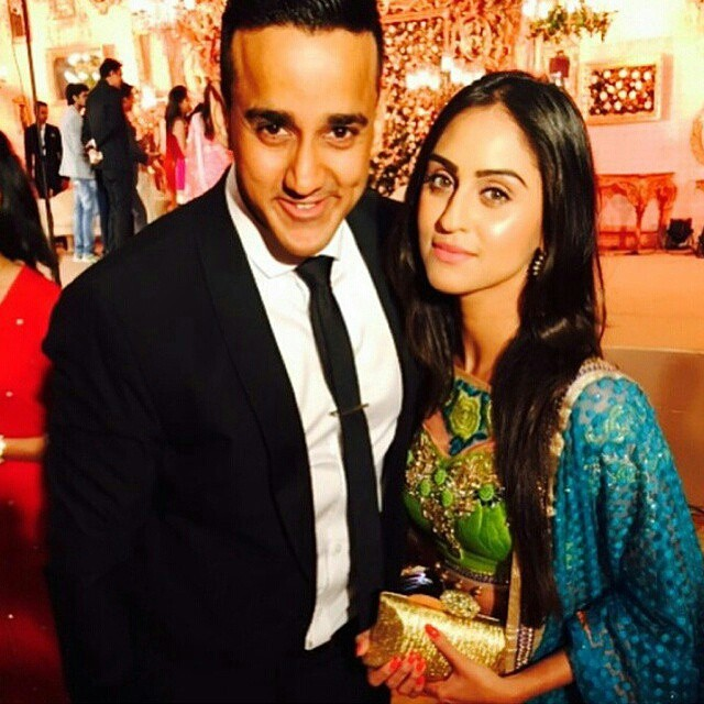 krystledsouza at ankita bhargava and karan patel wedding.