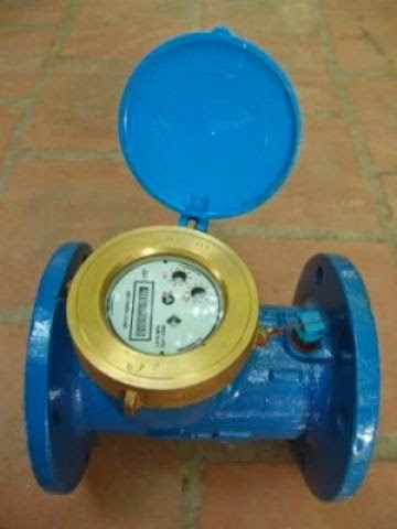 đồng hồ nước được sử dụng khá phổ biến