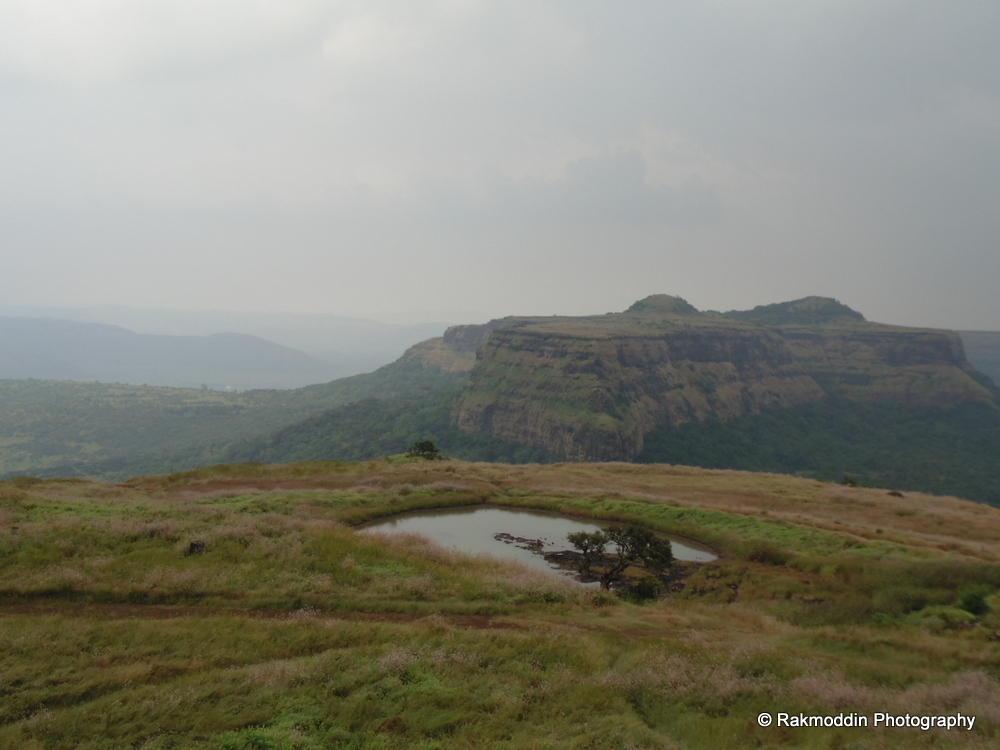 Visapur fort view from Lohagad fort