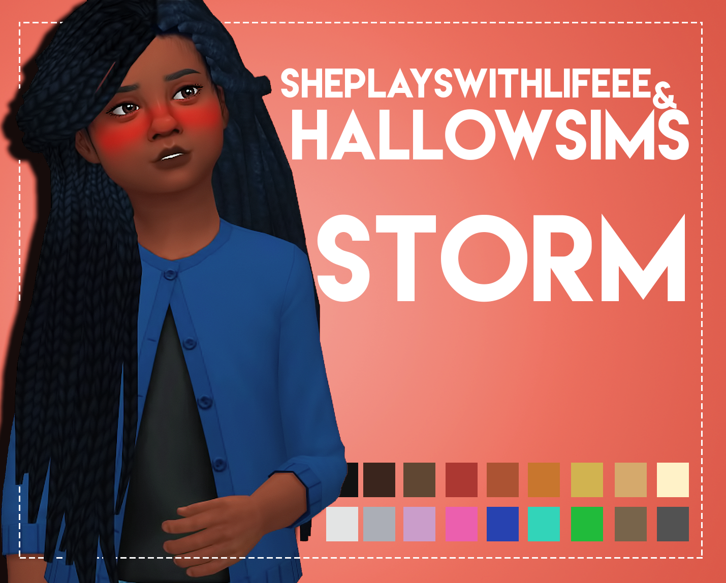 Sims 4 Maxis Match Hairline