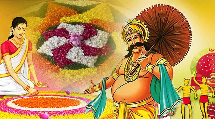 Onam harvest festival in Kerala